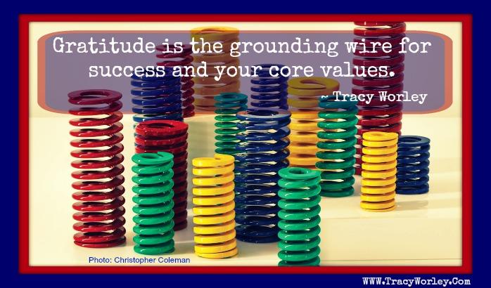 Gratitude Tracy Worley